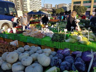Market shops