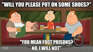Foot prision