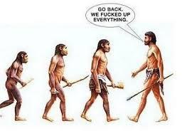 ancestors telling us off